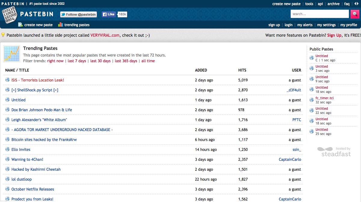 A website you should know: Pastebin com | Max Vetter